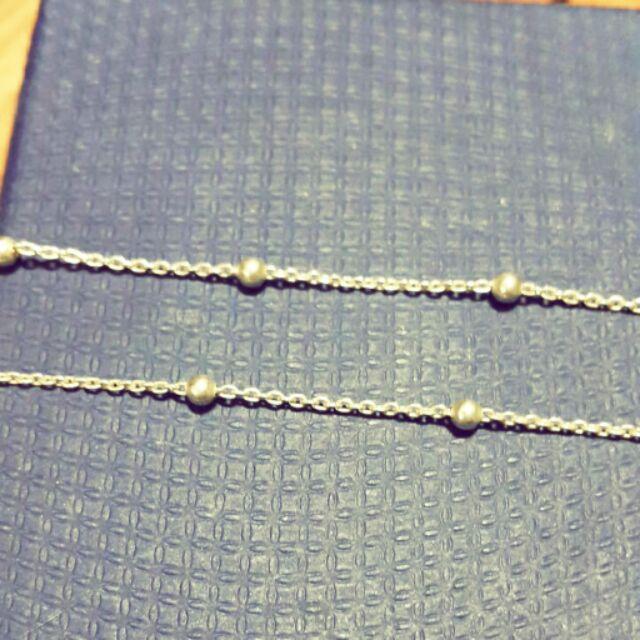純銀雙鍊手腳鍊
