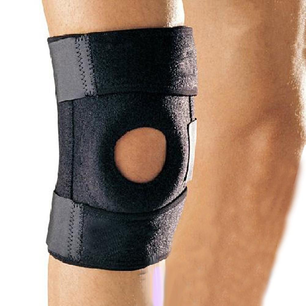 彈性 護膝戶外登山透氣籃球騎行跑步加強護具 款