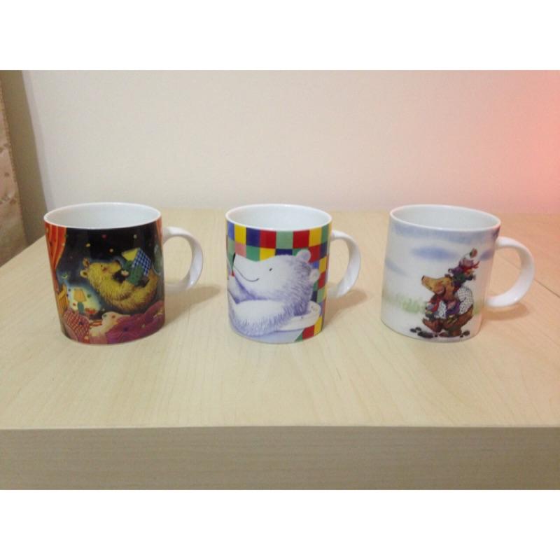 幾米彩繪馬克杯1 組3 款(台中市彰化市可面交)
