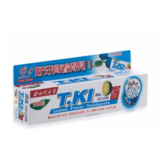 白人T KI 鐵齒亮白牙膏 製130g