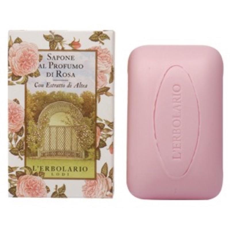 L ERBOLARIO 蕾莉歐玫瑰薰衣草忍冬鈴蘭植物香氛皂100g 300 元 135 元