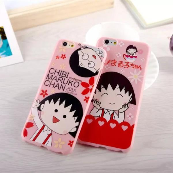 iphone6 6s 櫻桃小丸子iphone6plus 小丸子iphone6splus 櫻