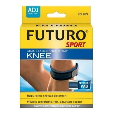 凱溢 用品美國3M FUTURO 型護膝可調式髕骨加壓帶舒適度極佳羽毛球馬拉松指定品牌各項