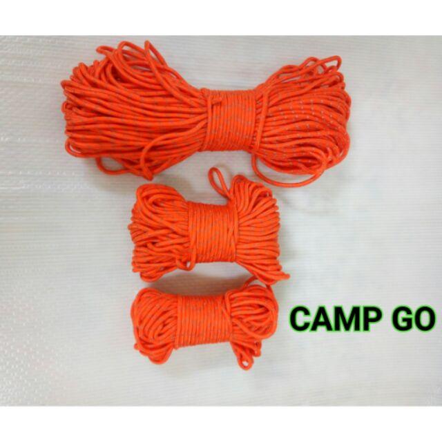 CAMP GO 露營帳篷天幕營柱5mm 反光營繩