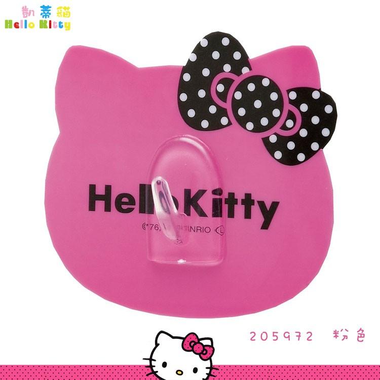 三麗鷗Hello Kitty 凱蒂貓矽膠吸盤掛勾多 掛勾浴室掛勾廚房掛勾205972