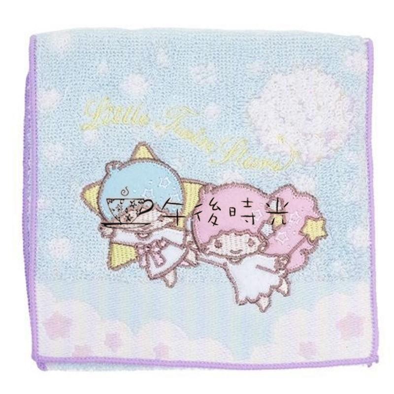 ~午後時光~ Sanrio 三麗鷗雙子星KIKI LALA 刺繡棉袋衛生棉生理用品護墊收納