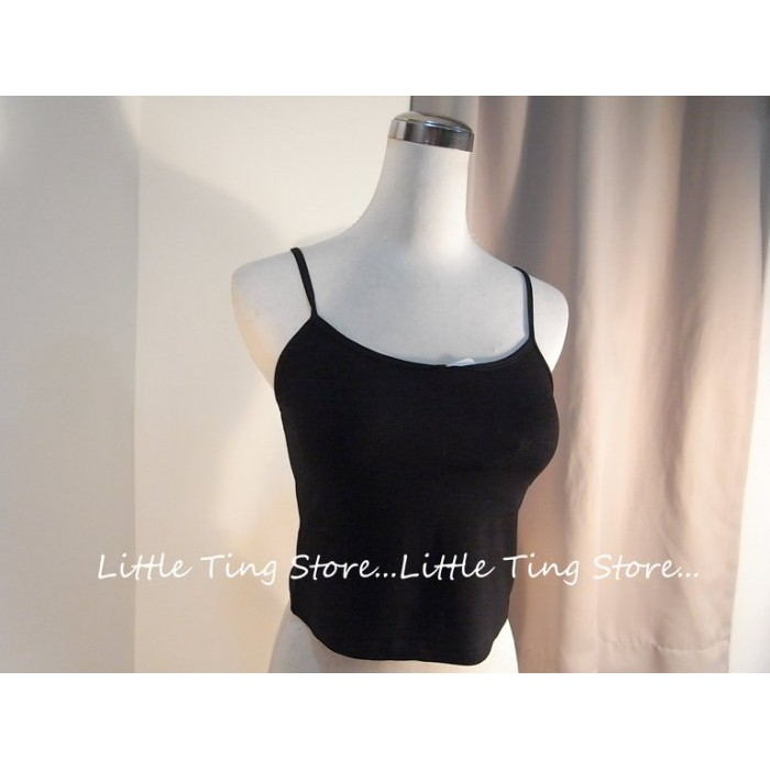 Little Ting Store 中大 Modal 莫代爾棉內搭衣打底衣素面半截式短版無