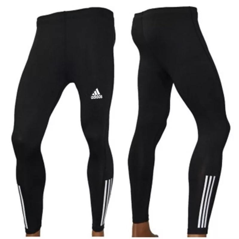 潮流會社adidas 愛迪達健身 緊身長褲
