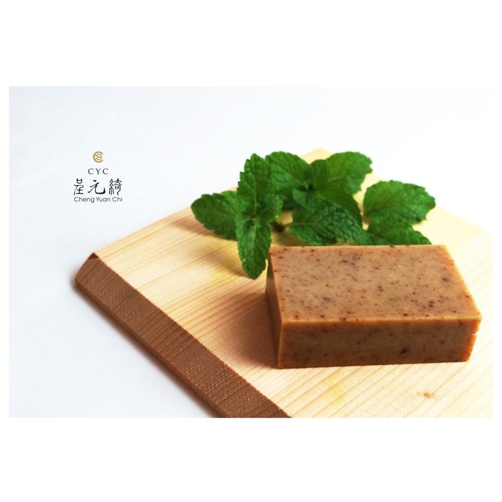 呈元綺綠茶沁涼皂100g