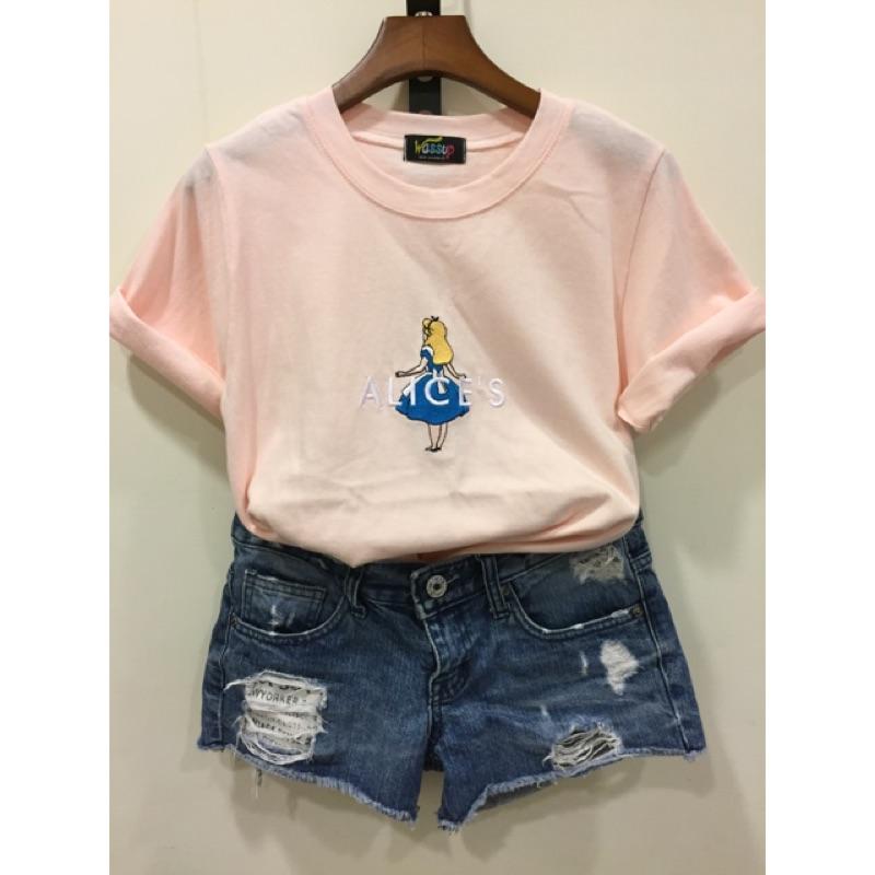 韓國❤️小艾莉絲背影短袖T 恤
