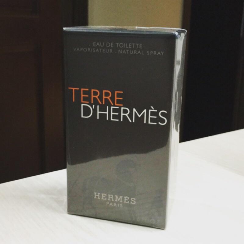 未拆愛馬仕Hermes Terre 大地男香水中性香水國外帶回