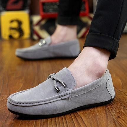 豆豆鞋一腳蹬 鞋懶人鞋樂福鞋透氣情侶鞋潮鞋
