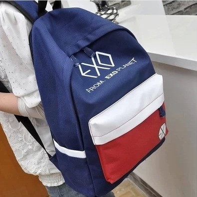 帆布學院風雙肩包男女背包學生書包情侶包包