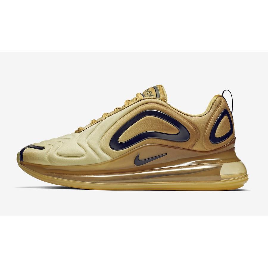 "全新正品 Nike Air Max 720 ""Desert Gold""沙金色 AO2924-700"
