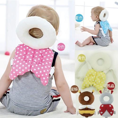 [熊爸爸]天使翅膀寶寶頭部防撞保護墊護頭枕共5 色