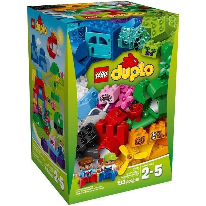 ~積木樂園~樂高LEGO 10622 DUPLO 得寶系列補充包大型 箱193 片