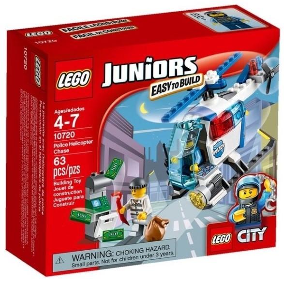 ~W 先生~LEGO 樂高積木JUNIORS 警用直升機追擊10720
