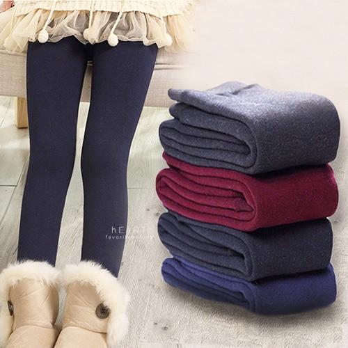 ~ ~兒童加厚加絨保暖內搭褲刷毛柔軟貼身褲襪