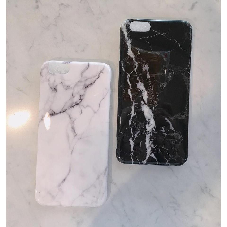 殼殼好心情黑白大理石手機殼iPhone 6 6S 7 7 plus 亮面滑面軟殼情侶附掛繩
