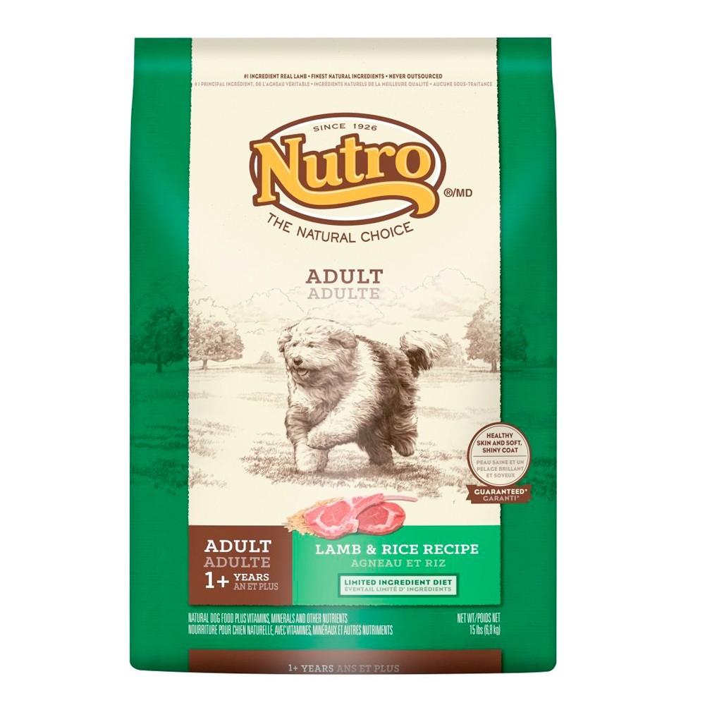 可超取5LB 2 27KG ~Nutro 美士~成犬羊肉米