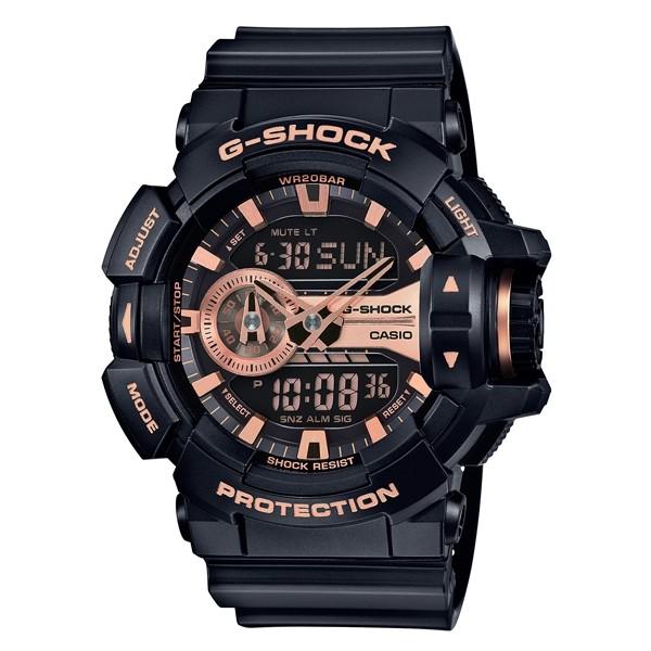 國外 CASIO G SHOCK GA 400GB 1A4 雙顯 防水手錶腕錶電子錶男女錶