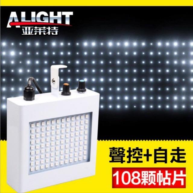 舞台激光108 顆貼片爆閃燈LED 燈聲控自走雙模式 KTV 酒吧舞廳私人招待所氣氛燈迷你