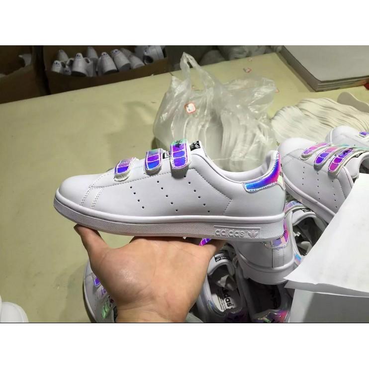史密斯魔鬼氈Adidas Originals stan smith 鐳射扣男女鞋