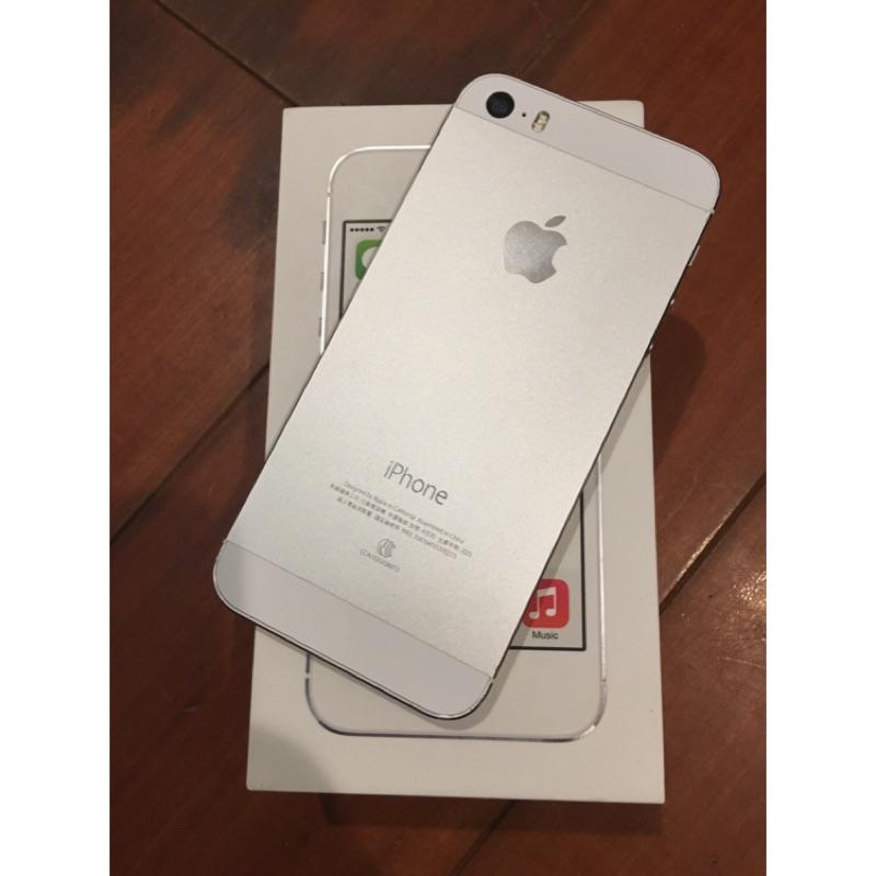 iPhone 5s 銀色32g  中古機