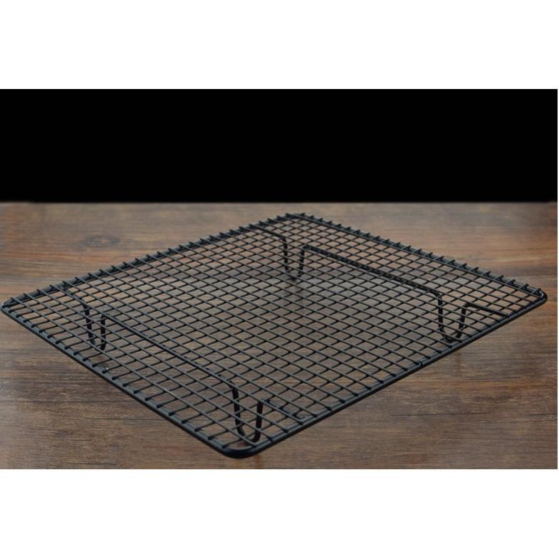 ~2BAKE 烘焙~烘焙工具烘焙蛋糕冷涼架麵包冷卻架黑色不沾冷晾網BK115