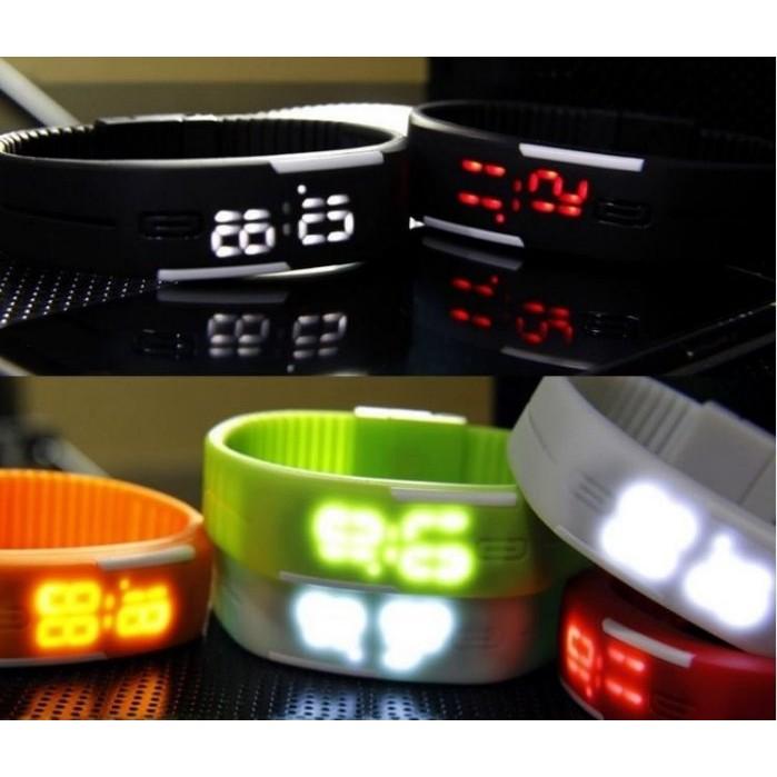 防水手環手錶LED 觸控男女 潮流學生電子錶 手錶