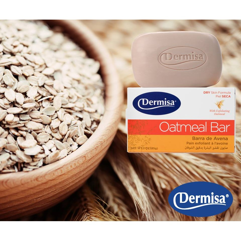 Dermisa 美國 去角質燕麥皂85g 2016 新包裝 淡斑皂、粉刺皂、保濕皂消費高手