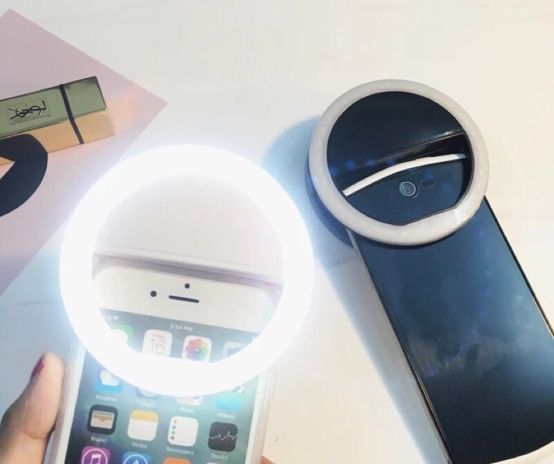 手機TR 補光神器 正品 補光燈強力美顏 神器補光三檔手機鏡頭LED 直播TR IPHON