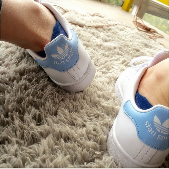 Adidas Originals stan smith 史密斯Adidas 鞋深藍三葉草情