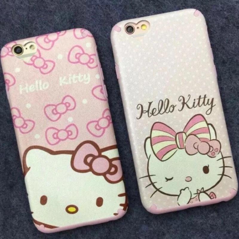 kitty 粉色軟殼系列iphone6 6plus iphone7 7plus 手機保護套