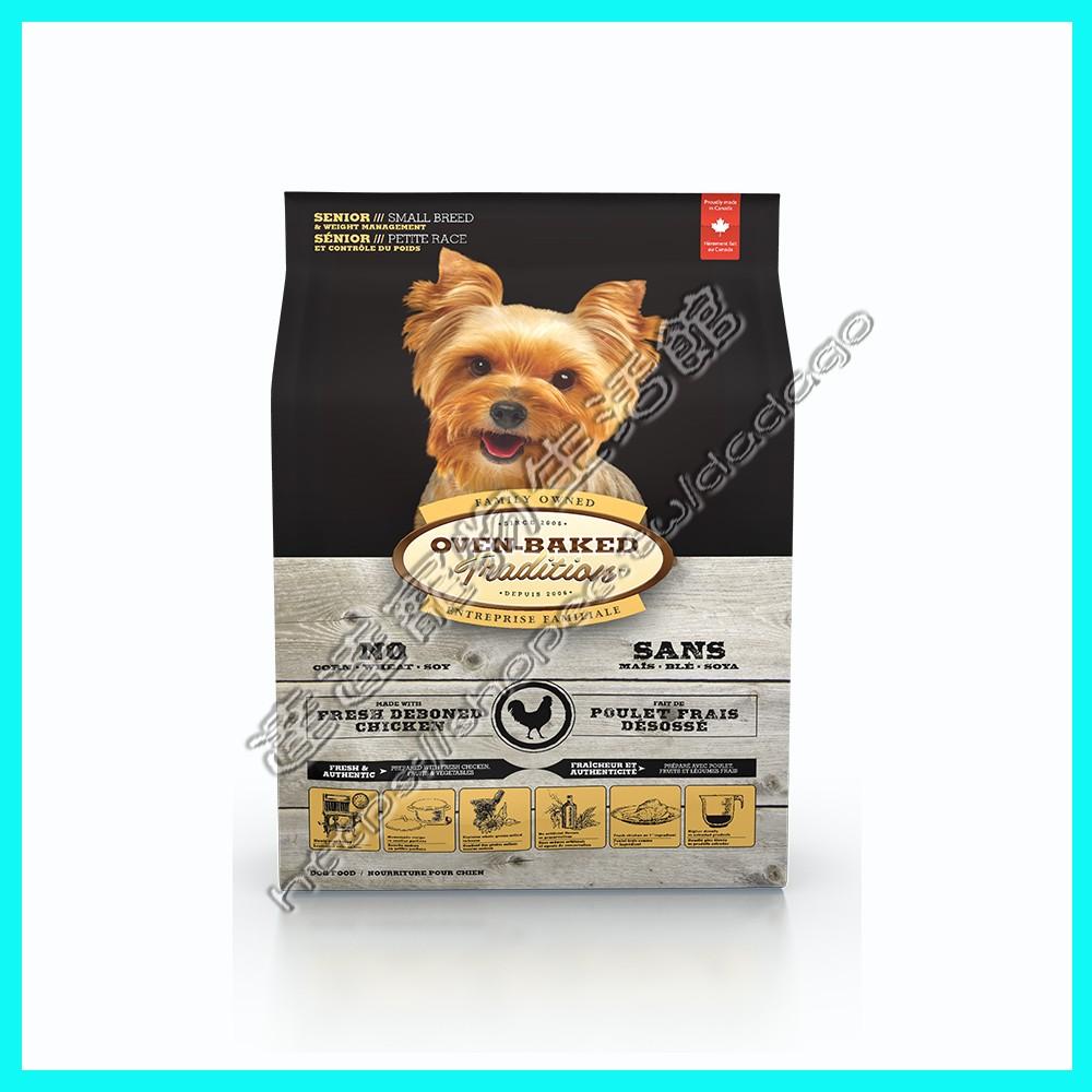 ~達達寵物~加拿大Oven Baked 烘焙客高齡犬成犬減重配方小顆粒1 公斤5 磅12