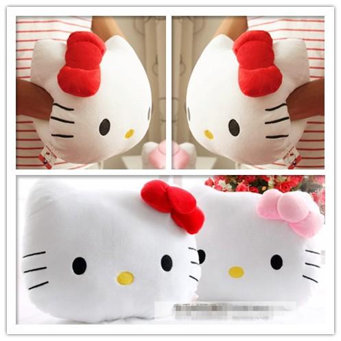❤ ❤hello Kitty 暖手抱枕凱蒂貓咪可愛療癒靠墊辦公室午安枕頭生日 韓國exo