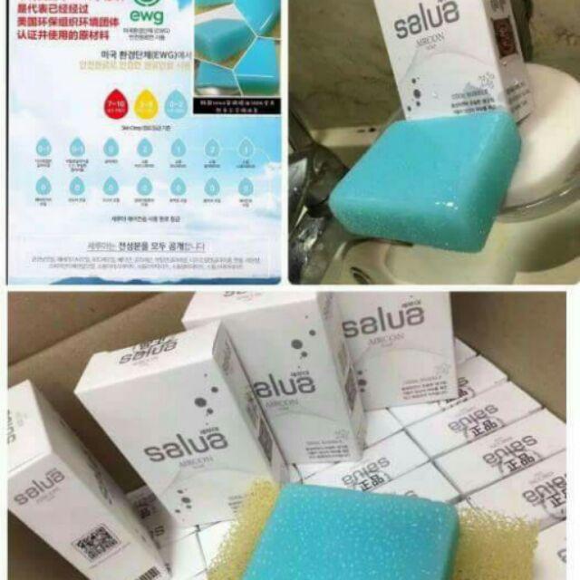 ~韓國Salua 安瓶精油空調感冰涼皂100g 顆~它不是一般的香皂,它洗完除了香香還會有