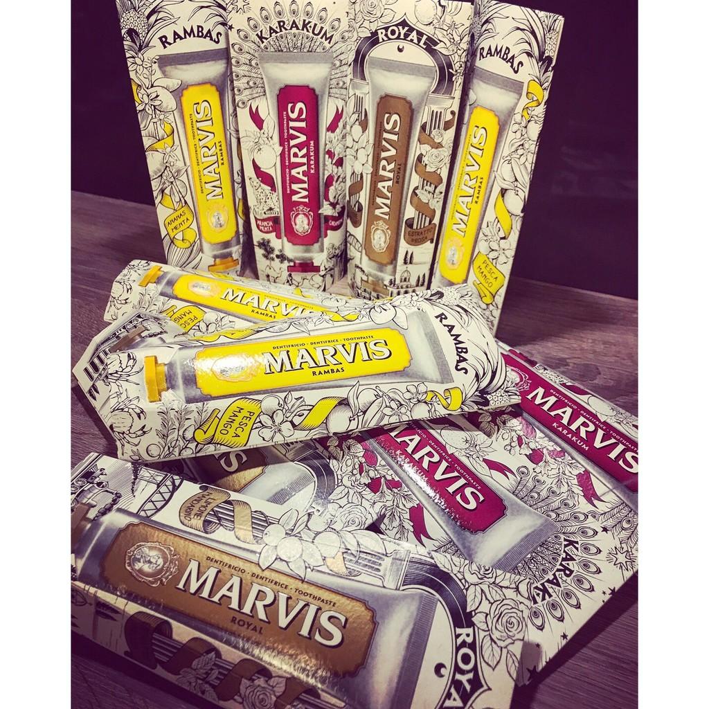 ~歐洲連線 中~牙膏界 MARVIS 限定版夏天專屬的鳳梨芒果口味75ML  數量有限