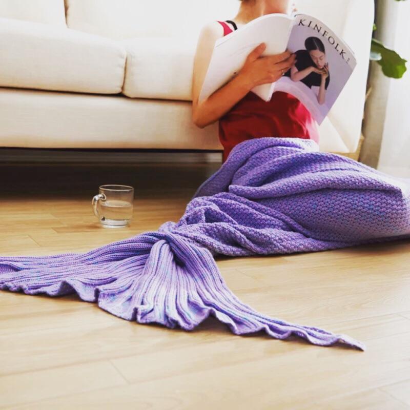 ✨ 蝦幣✨ 很美哦❤️買來夢幻一下美人魚尾巴毯