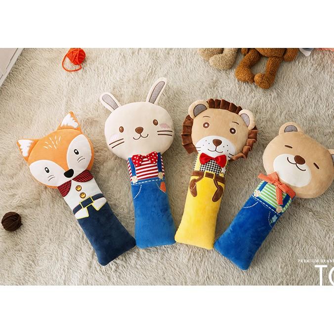 韓國超可愛汽車安全袋抱枕安全帶護肩兒童抱枕大人小孩都喜歡