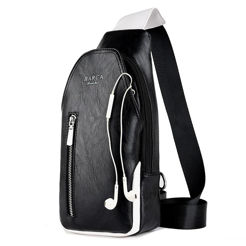 男士胸包休闲包包斜挎包运动单肩男包韩版背包包潮流时尚户外包包