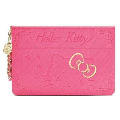 貨GARMMA Hello Kitty iPad mini 4 凱蒂貓摺疊式皮套保護套平板