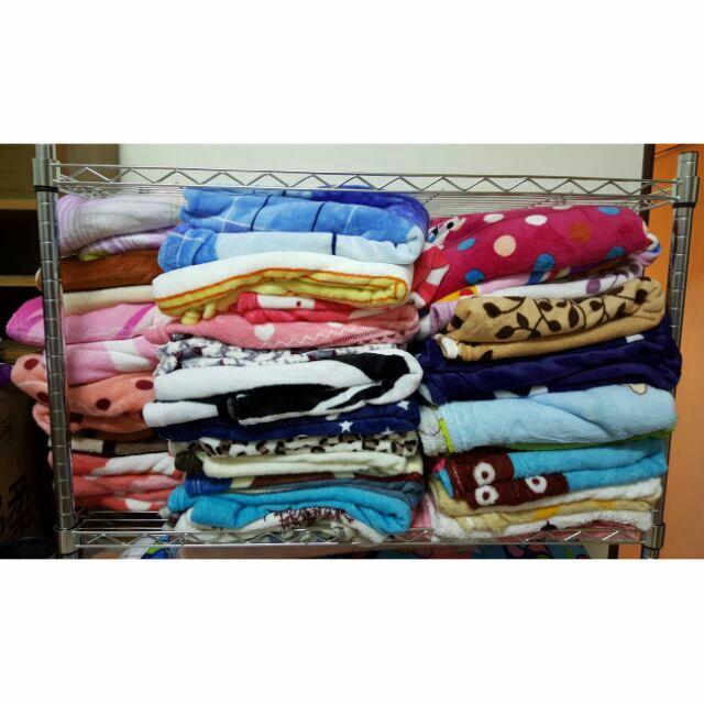 法蘭絨華蘭絨、法萊絨華萊絨保暖透氣毛毯、涼被、空調毯、嬰兒毯、四季毯~可當批肩