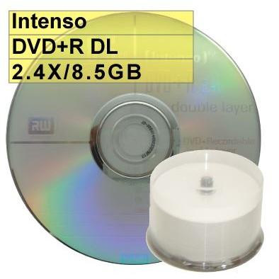 ~ 錸德 ~絕版、外銷A 級Intenso DVD R DL 2 4X 8 5G 遊戲 片