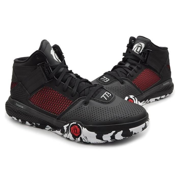 adidas AQ8241 D Rose 773 IV bounce 玫瑰黑紅迷彩輕量避震