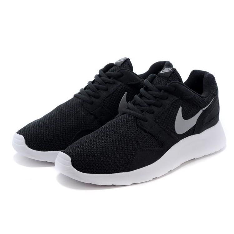 正品Nike Roshe Run Kaishi 2015 網面透氣慢跑鞋情侶鞋黑白