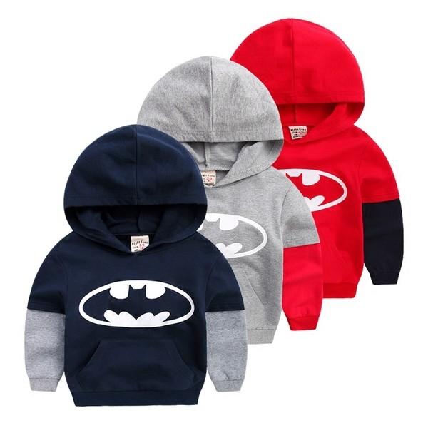 U2766 男孩拼接袖連帽T shirt 每件 180 元