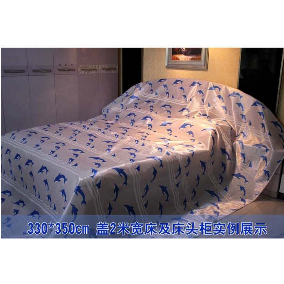傢俱沙發床防塵罩布牛津佈防水遮塵床罩裝修大掃除大蓋布罩單包郵
