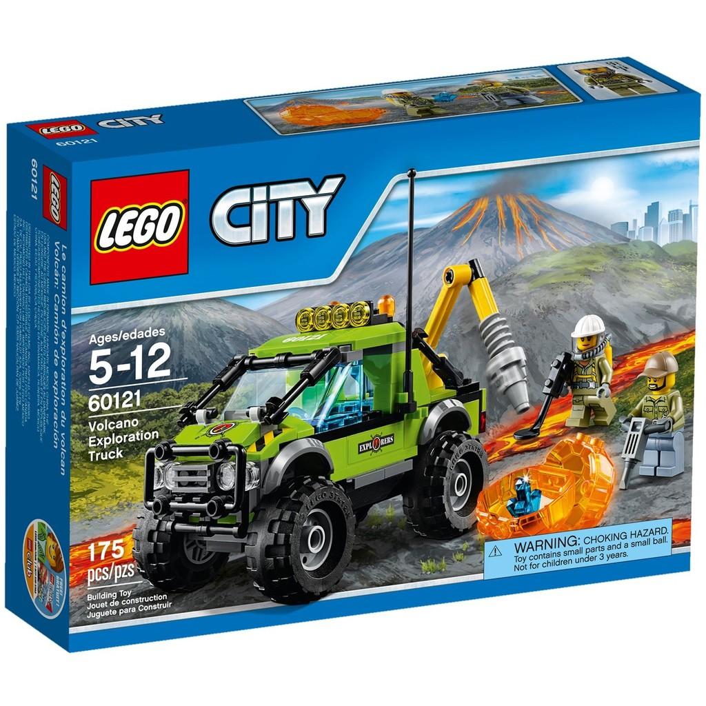 LEGO 樂高CITY 城市系列60121 火山探險車