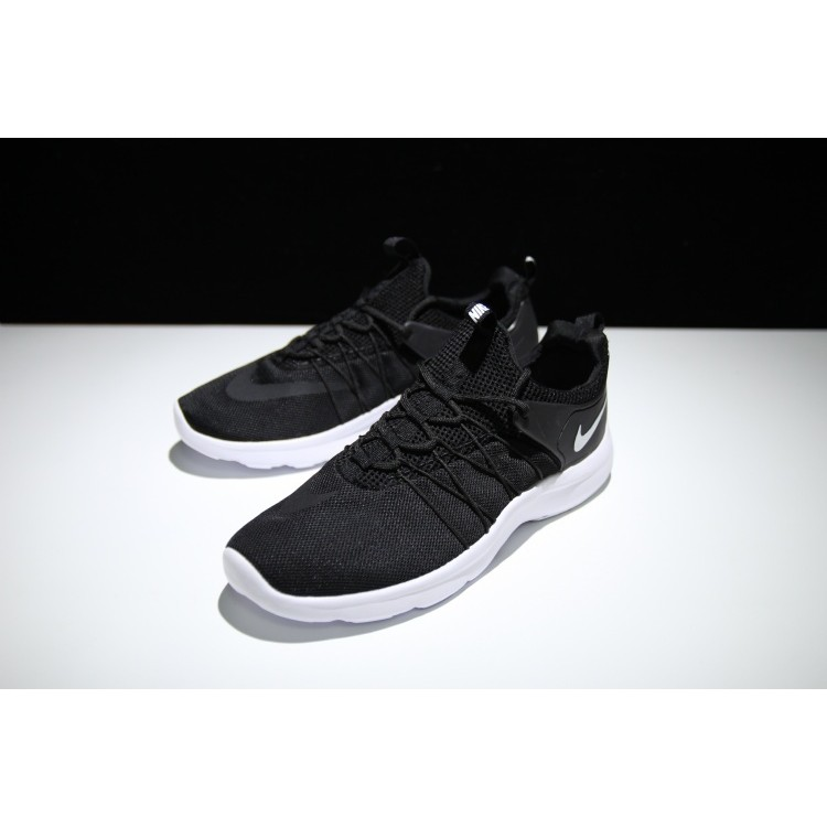 耐克Nike Darwin run 達爾文 跑鞋網面輕便男女情侶鞋 黑白819803 01